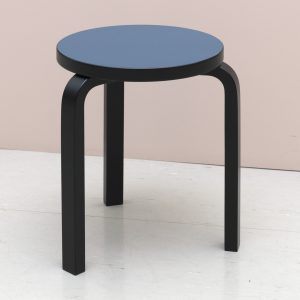 Groovy Special Edition Stool 60 Black Smokey Blue Creativecarmelina Interior Chair Design Creativecarmelinacom
